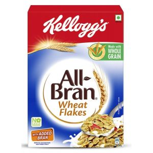 Kelloggs Corn Flakes -All Bran Wheat 425gm