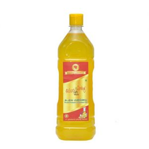 Amma Mara Chekku Groundnut OIl 1 ltr Bottle