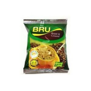 Bru Roast&Ground Green Label 100gm