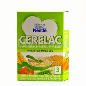 Cerelac Wheat-Rice Mixed Veg Stage 3