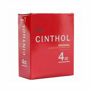 Cinthol Original Soap100 gm (Pack Of 4)