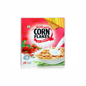 Kelloggs Cornflakes Real Strawberry 100gm
