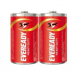 Eveready Battery (D) - Heavy Duty ( Pack of 2)