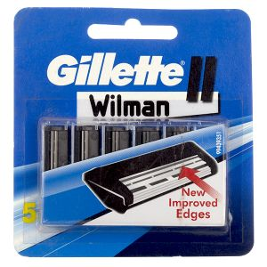 Gillette Wilman II Catridges (Pack of 5)