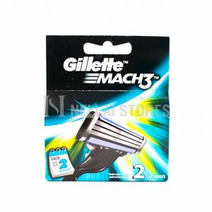 Gillette Mach 3 Blade -  2 Cartridge