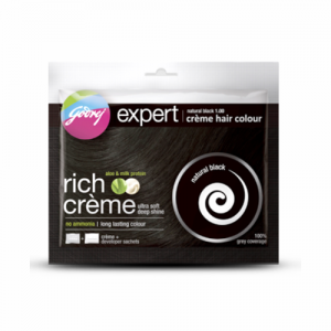 Godrej Expert Cream Hair Color - Natural Black