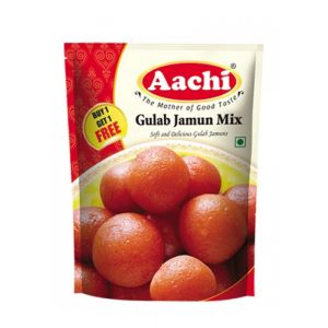 Aachi Gulab Jamun Mix 175 gm ( Buy 1 get 1 free)