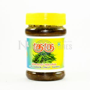 Guru Green Chilly Thokku 300gm