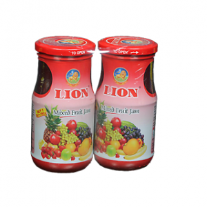 Lion Mixed Fruit Jam 250g