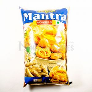 Mantra Groundnut Oil 1 Ltr Pouch