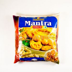Mantra Groundnut Oil 500 ml Pouch