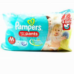 Pampers Medium Pant - 8Pcs (7-12kg)