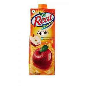 Real Apple 1 Ltr Carton
