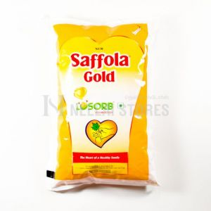 Saffola Gold Vegitable Oil 1 ltr Pouch