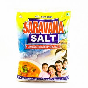 Saravana Iodised Crystal Salt 1 Kg