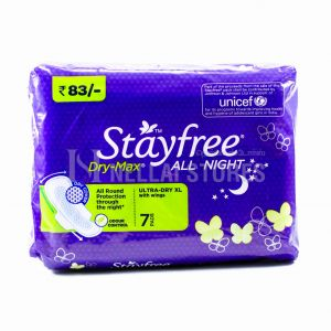 Stayfree All Night ( Ultra- Dry XL Wings) - 7Pads