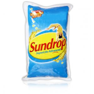 Sundrop Refined Sunflower Oil 1 Ltr Pouch