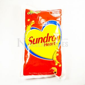 Sundrop Heart Vegitable Oil 1 Ltr Pouch