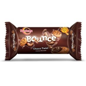 Sunfeast Bounce Choco Twist Biscuit