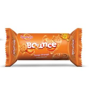 Sunfeast Bounce Orange Cream Biscuit