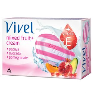Vivel Mixed Fruit Soap 100 gm
