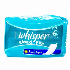 Whisper Maxi Fit Regular - 8 Pads