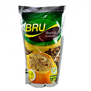 Bru Roast&Ground Green Label 200gm