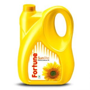 Fortune Refined Sunflower Oil 5 Ltr Can