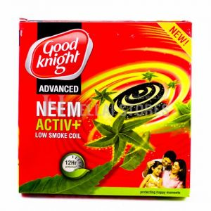Good Knight Neem Activ+ Low Smoke Coil