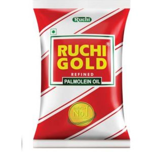 Ruchi Gold Refined Palm Oil 1 Ltr Pouch