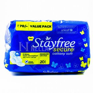 Stayfree Secure - Regular with Wings - 20pcs
