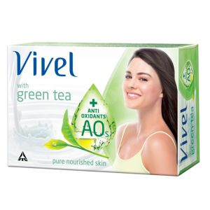 Vivel Green Tea Soap 100 gm