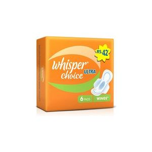 Whisper Choice Ultra Wings - 6 Pads